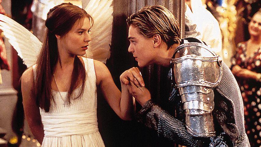 "Claire Danes und Leonardo DiCaprio in ""Romeo + Juliet"""