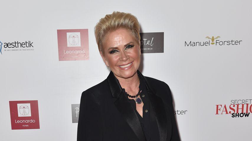 Claudia Effenberg bei der Secret Fashion Show in München 2017