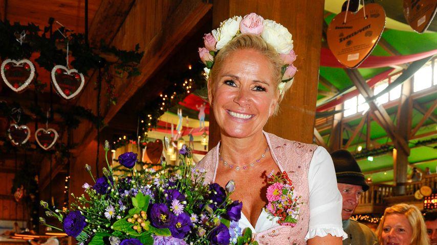 Claudia Effenberg auf der Wiesn