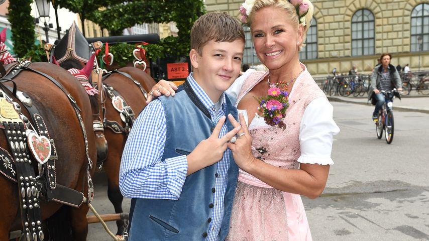 Nach Unfall-Drama: So geht es Claudia Effenbergs Sohn (13)