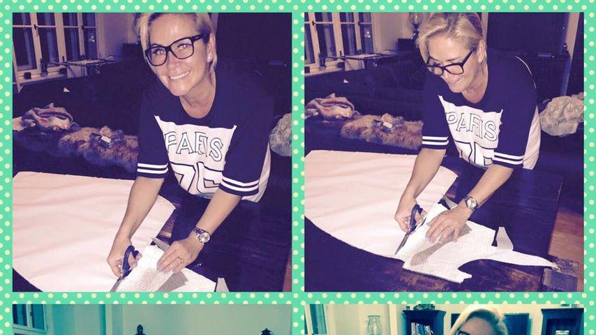 Schicke Kleider: Claudia Effenberg wird Designerin