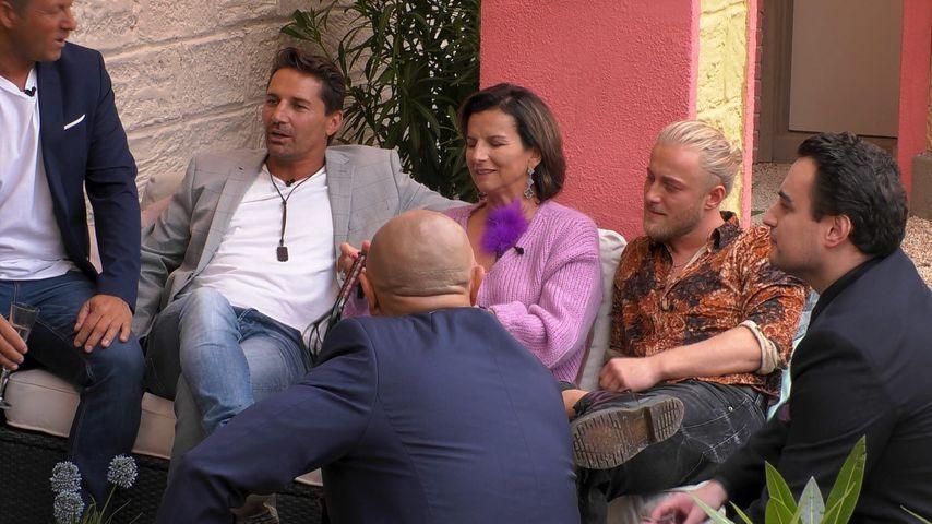 "Claudia Obert mit ihren Kandidaten bei ""Claudias House of Love"""