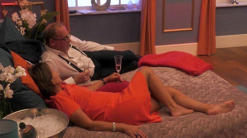 "Claudia Obert und ihr ""Claudias House of Love""-Kandidat Kai in Folge sechs"