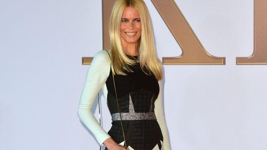 Red Carpet-Comeback: Claudia Schiffer verblüfft!