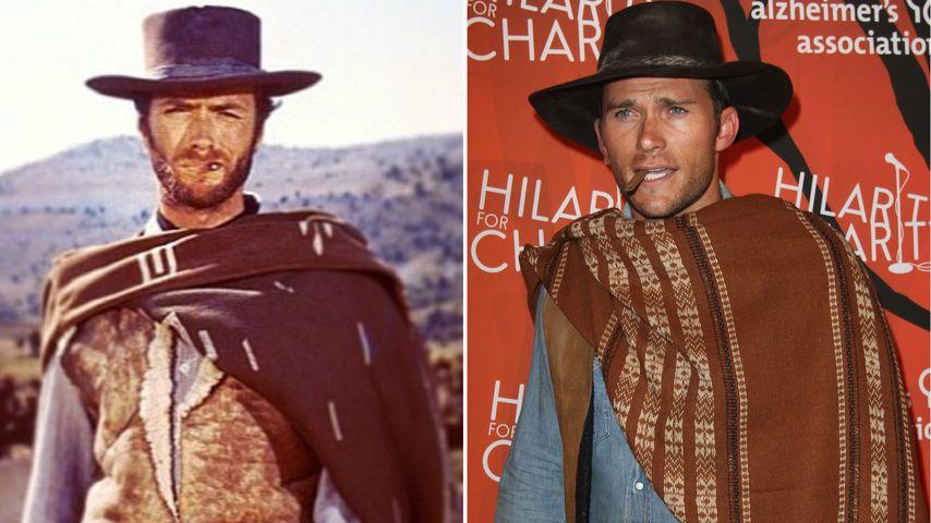Wie Zwillinge: Scott Eastwood kommt ganz nach Papa Clint!