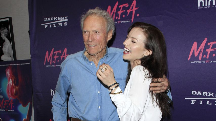 Clint Eastwood und Tochter Francesca bei der M.F.A. Premiere in West Hollywood