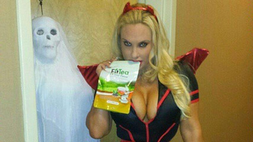Für Halloween: Popo-Coco zeigt ihre Extrem-Taille