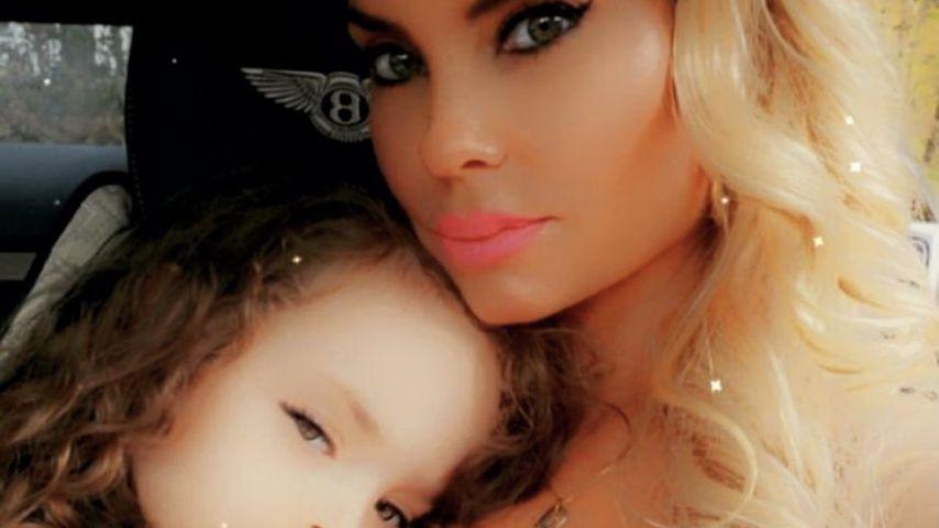 Coco Austin mit ihrer Tochter Chanel, August 2021