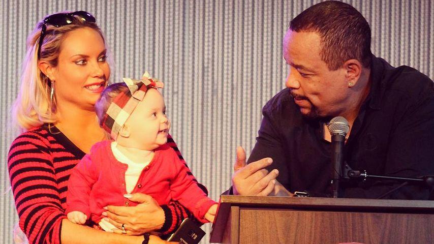 Coco, Ice-T und Töchterchen Chanel Nicole im November 2016