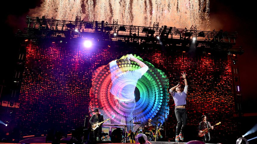 Konzert von Coldplay 2017
