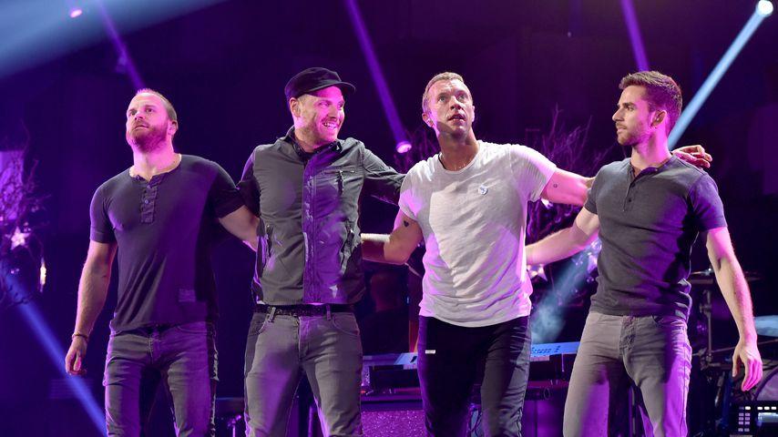 Coldplay wollen für die Umwelt nicht mehr auf Tour gehen!