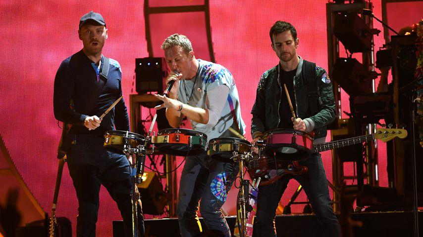 Coldplay beim iHeartRadio Music Festival 2017 in Las Vegas