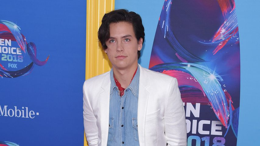 Schauspieler Cole Sprouse bei den Teen Choice Awards, 2018