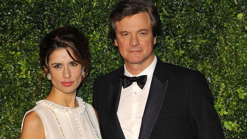 Landet Colin Firth dank Ehefrau bald im Armenhaus?