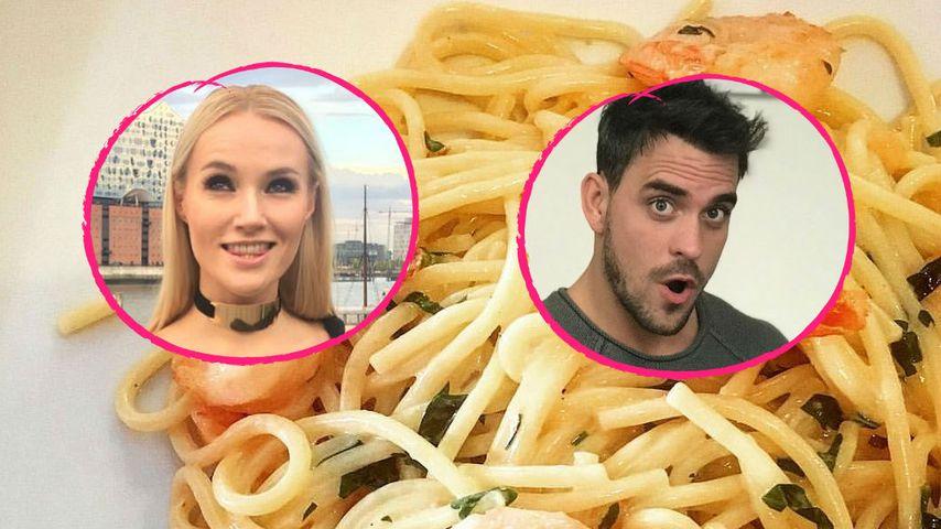 Mit Pasta: Liebes-Outing bei Anna Hofbauer & Marc Barthel?
