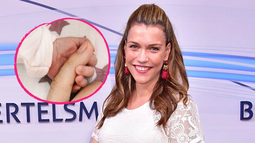 Das Baby ist da: RTL-Star Annett Möller ist Mama geworden!