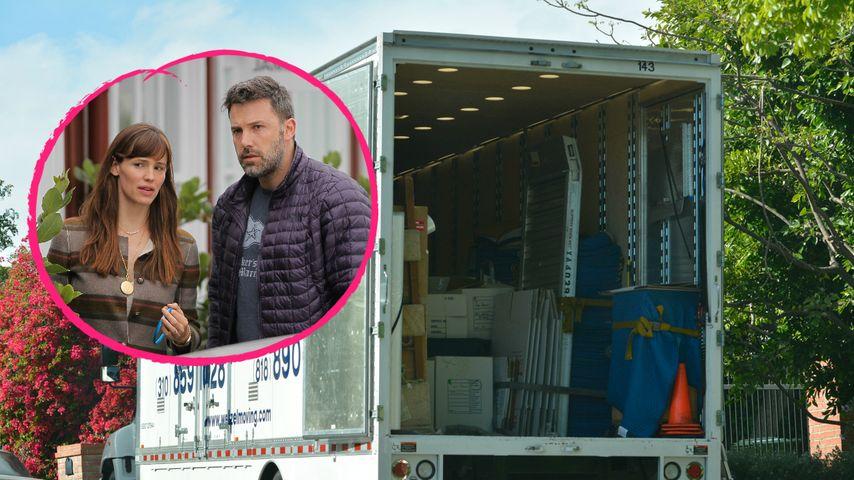 Umzugswagen gesichtet: Ben Affleck zurück bei Jen Garner?