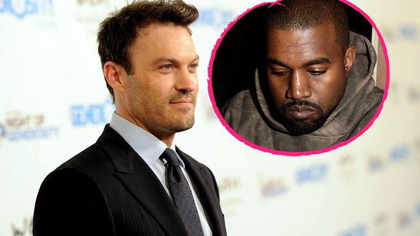 Kanye-Psychose: Brian Austin Green verteidigt kranken Rapper