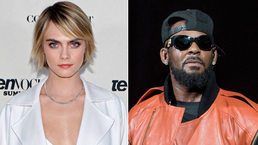 """Monster"": Model Cara Delevingne prangert R. Kelly an!"