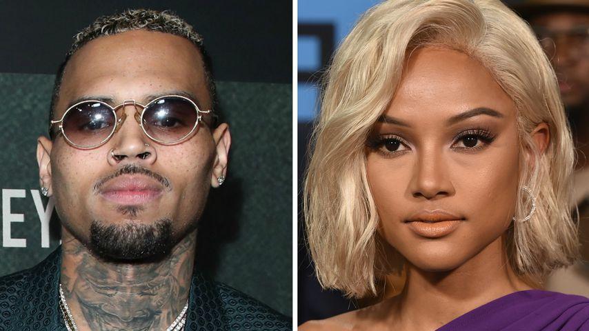 Mit seiner Ex: Chris Brown hält Kontaktverbot auf Award-Show
