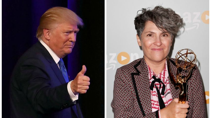 """Emmy-Gewinnerin beleidigt Donald Trump als """"Erben Hitlers"""""""