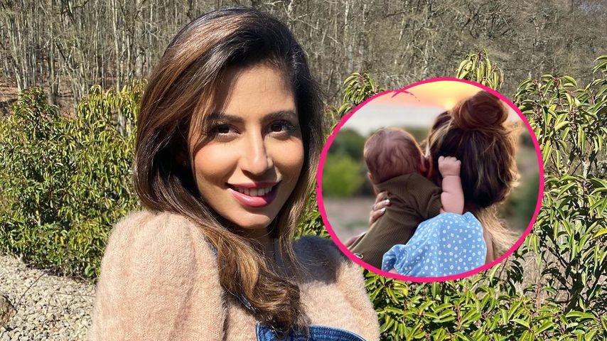 Inmitten Chris-Drama: Eva postet Bild mit ihrem Baby George
