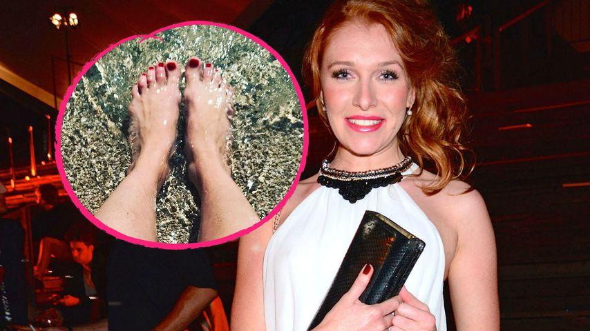 Beauty-OP an den Zehen: Facebook lacht Georgina Fleur aus