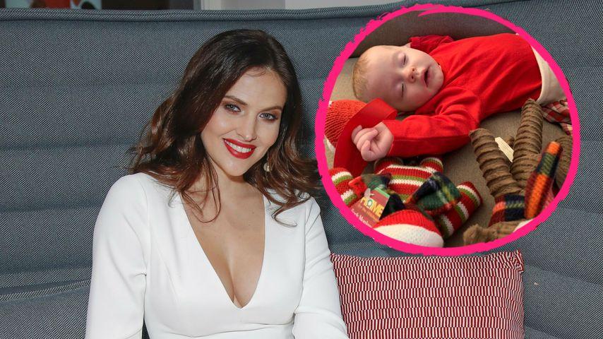 Mama Hana Nitsche entzückt: Baby ist nach Xmas total müde!