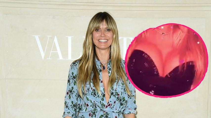 Nach String-Pic: Heidi Klum holt Fans ganz nah an Brüste ran