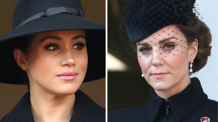 Nach Rücktritt: Meghan und Kate sprechen kaum miteinander