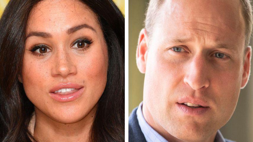 Vorwürfe gegen Kate: Prinz William richtig sauer auf Meghan