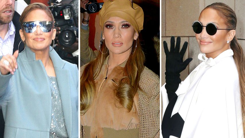 Style-Chamäleon: J.Lo rockt elf Glam-Outfits in zwei Tagen!