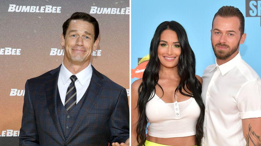 SMS von Ex John Cena: Nikki Bellas Freund stört es nicht