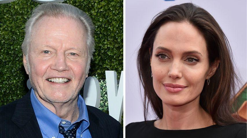 Mit ihren Kids: Angelina Jolie versöhnt sich mit ihrem Vater