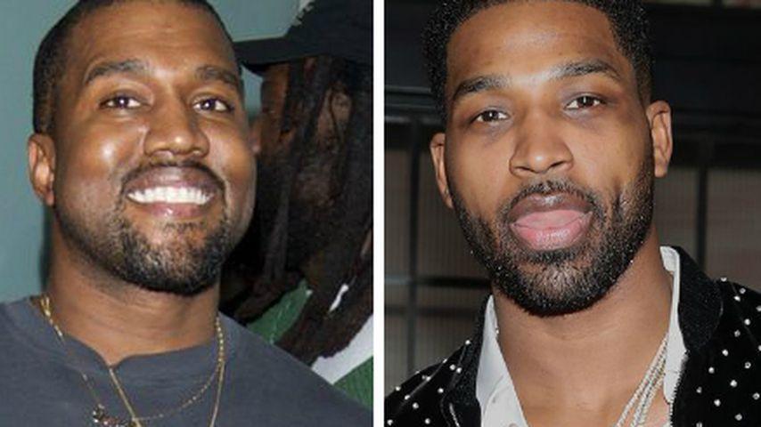 Twitter-Comeback für Kanye: Disst er hier Tristan Thompson?