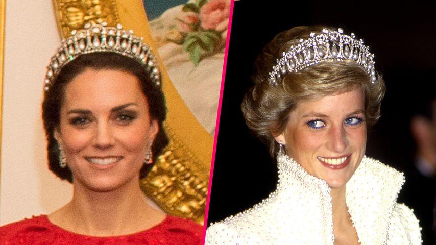 Style-Vorbild: Herzogin Kate rührt mit Hommage an Lady Diana