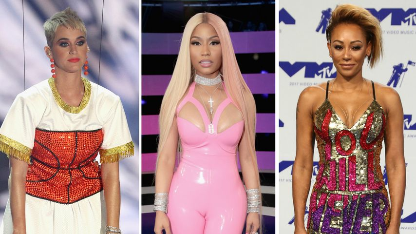 Statements, Fusseln, Latex-Look! Die besten VMA-Outfits 2017