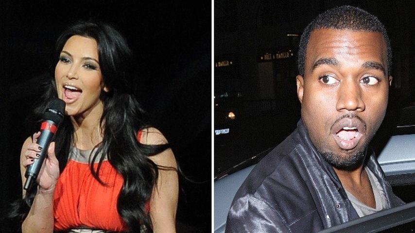 Kim Kardashian wird von Kanye West gefeatured!