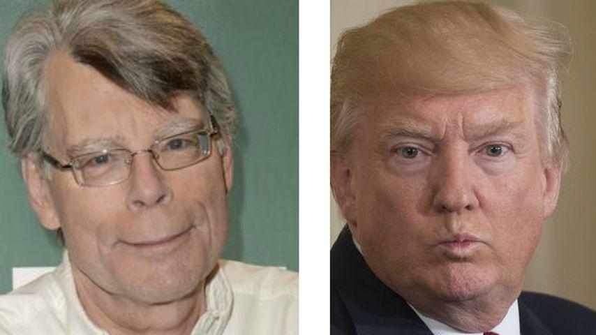 Witziger Twitter-Zoff: Stephen King & J.K. Rowling vs. Trump