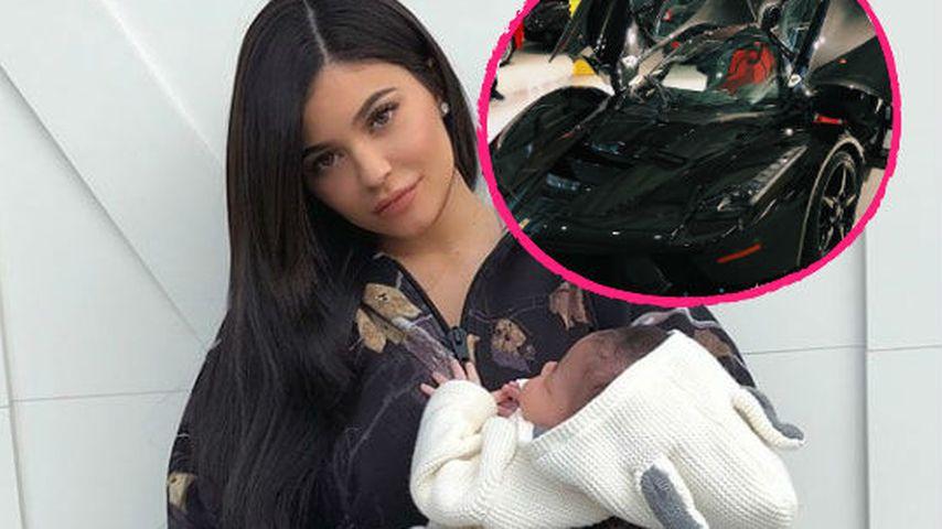 Stormi-Shitstorm: Liebt Neu-Mama Kylie ihr Auto etwa mehr?