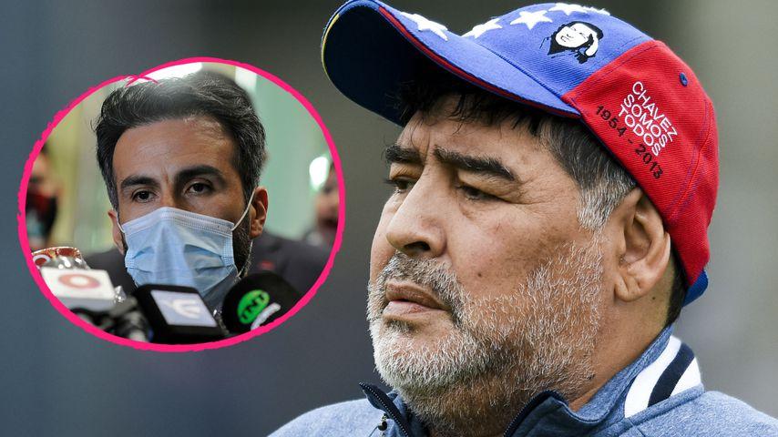 Für Krankenakten: Hat Maradonas Arzt Unterschrift gefälscht?
