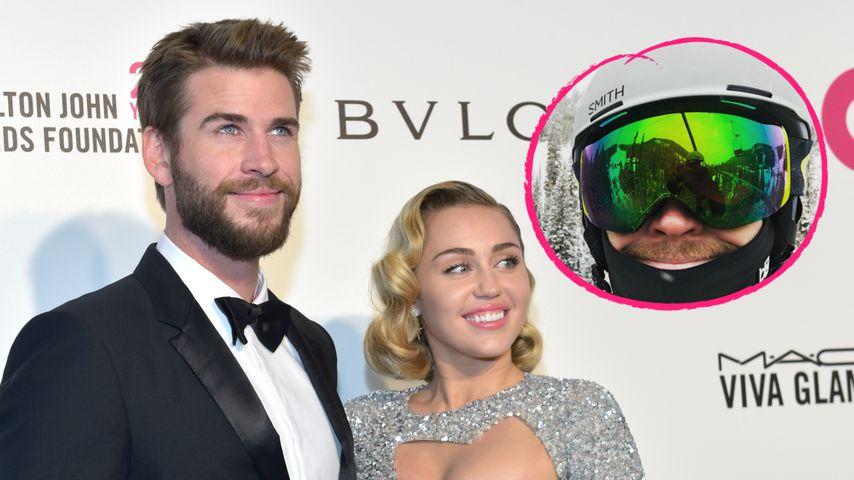 Mit der Familie: Sind Liam und Miley in den Flitterwochen?