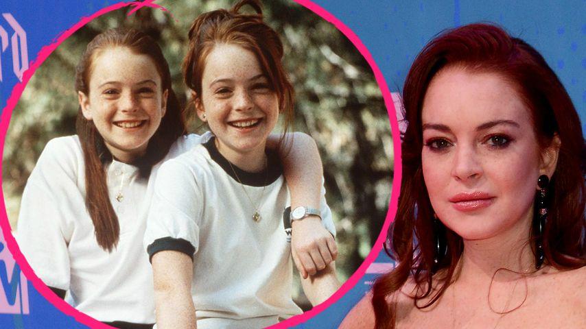 Lindsay Lohan Zwilling
