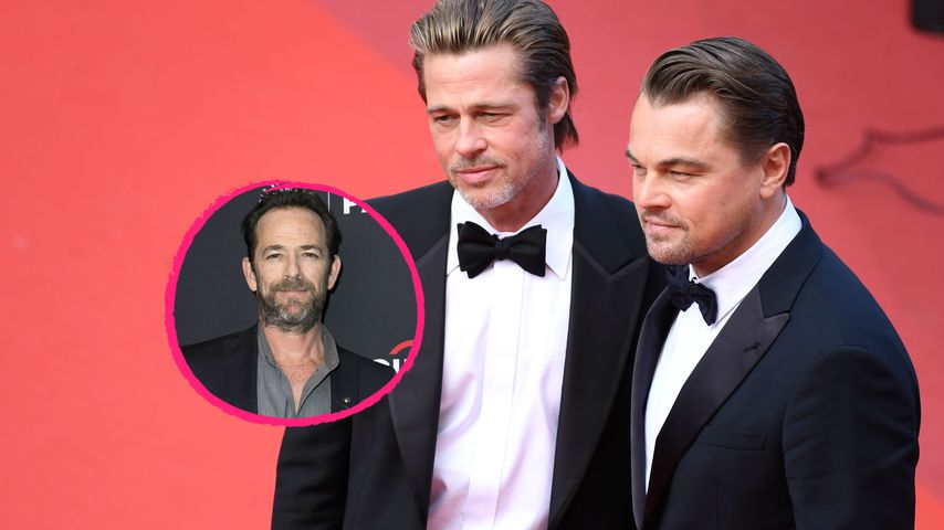 Brad Pitt & Leo DiCaprio schwärmen von Arbeit mit Luke Perry
