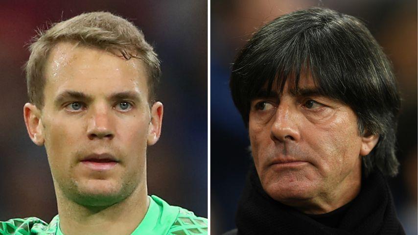 Verletzter Manuel Neuer bei WM dabei? Jogi Löw wagt Prognose