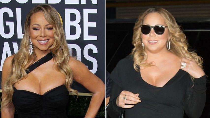 12 Kilo abgespeckt: Mariah Carey verblüfft bei Golden Globes