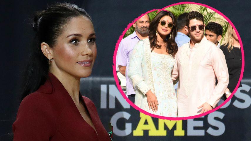 Reist schwangere Meghan für Priyankas Hochzeit nach Indien?