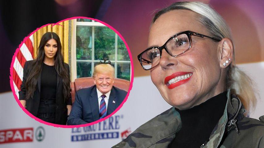 Kim K. & Donald Trump: Für ihr Oval-Office-Pic gibt's Spott!