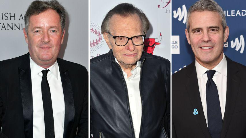 """""""Einer meiner Helden"""": TV-Kollegen gedenken Larry King (†)"""