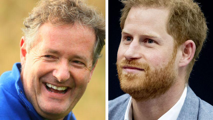 """""""Selbst schuld"""": Piers Morgan basht Harry für Presse-Klage"""